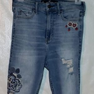 Hollister Ultra High Rise Super Skinny Jeans Sz 5R